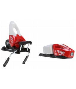 Head Mojo 11 Wide FR Ski Bindings Powder Red/White 88mm (Din 3-11)
