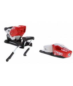 Head Mojo 12 Wide Ski Bindings Powder Red/White 97mm (Din 3.5-12)
