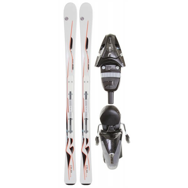 Head Mya No. 2 Skis White w/ Mya LR Bindings