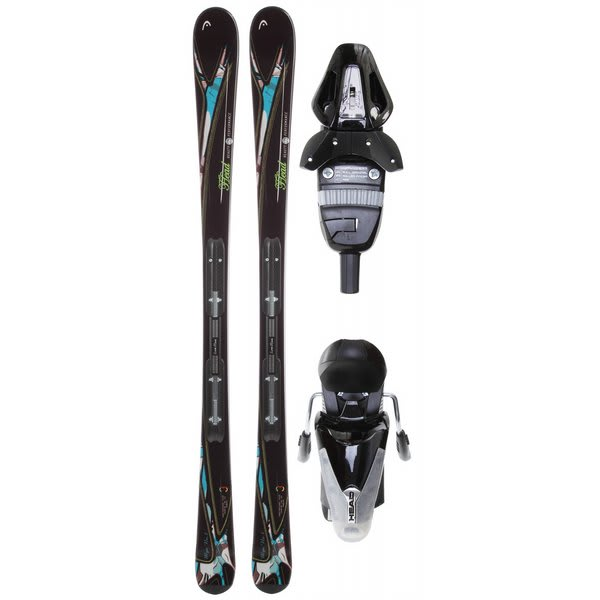 Head Mya No. 2 Skis w/ Mya 9 Lrx Bindings