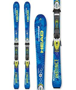 Head Natural Instinct Skis w/ TYR PR 10 Promo Bindings