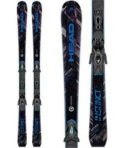 Head Natural Instinct Skis w/ PR 10 Promo Bindings