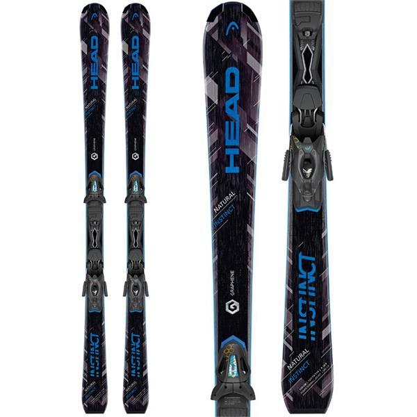 Head Natural Instinct Skis w/ PR 10 Promo Bindings