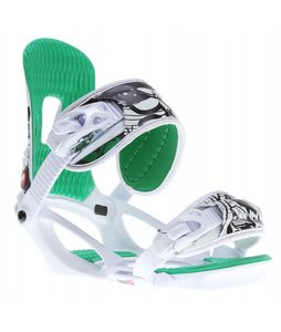 Head NX Fay One Snowboard Bindings White