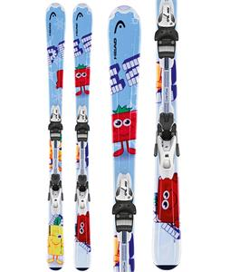 Head Pez Team Skis w/ LRX 4.5 AC Bindings