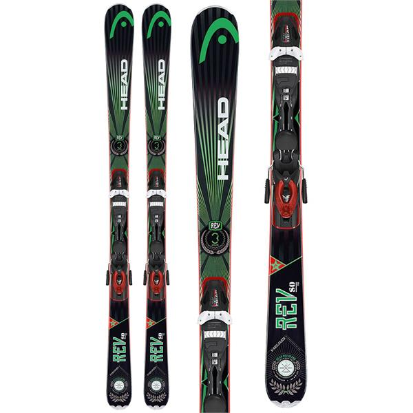 Head Rev 80 Pro Skis w/ Pr 11 Bindings