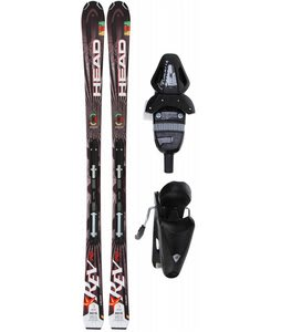 Head Rev 70 Skis w/ LRX 9.0 Bindings