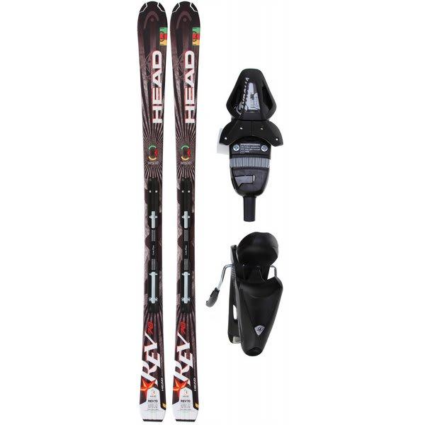 Head Rev 70 Skis w/ LRX 9.0 Bindings
