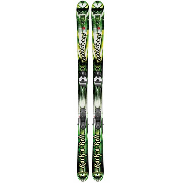 Head Rockn Roll 94 Skis w/ Mojo 12 Wide Bindings
