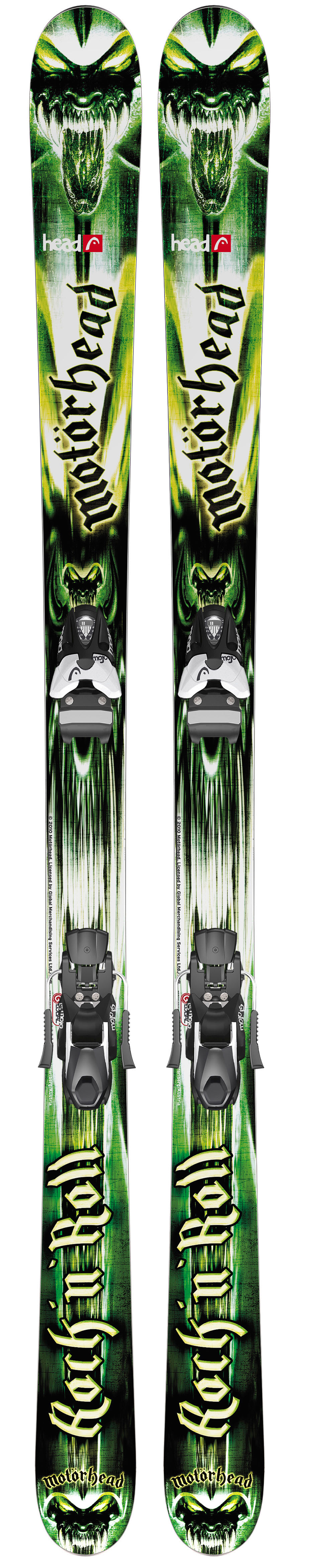 Shop for Head Rock'n Roll 94 Skis w/ Mojo 12 Wide Bindings Matte Black/Silver 97mm - Men's