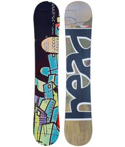 Head Rush Rocka Wide Snowboard Just Ink 162