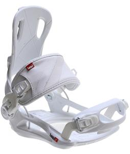 Head RX Fay I Snowboard Bindings White