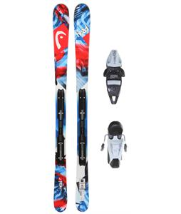 Head Souphead LR Skis w/ LRX 4.5 AC Bindings