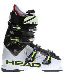 Head Vector 100 Ski Boots White/Black/Yellow