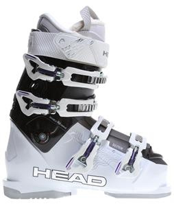 Head Vector 100 Ski Boots White/Black