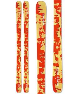 Head Mojo Mix TT Skis Yellow/Red