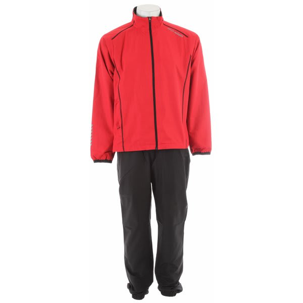 Helly Hansen Winter Training Set Jacket/Pant Set Red/Black