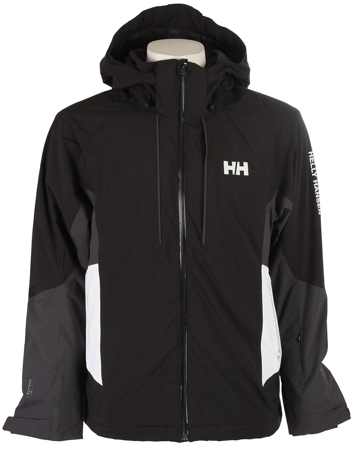 helly hansen accelerate ski jacket black mens. Black Bedroom Furniture Sets. Home Design Ideas
