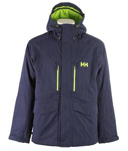 Helly Hansen Verglas Glacier Insulated Ski Jacket Evening Blue