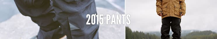 2015 Snowboard Pants