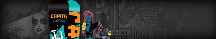 Capita Snowboard & Binding Packages