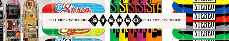 Stereo Skateboard Decks