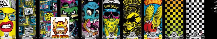 Speed Demons Skateboard Trucks
