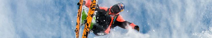 Rocker Skis with Bindings