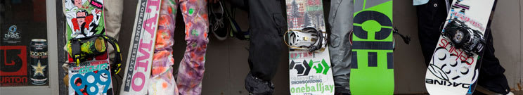 Snowboard, Boot & Binding Packages