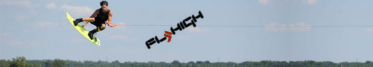 Fly High Wakeboard Handles, Lines & Combos