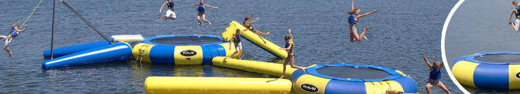 Rave Water Trampolines, Bouncers