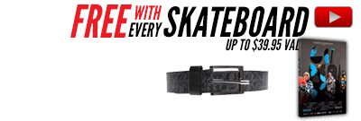 Free gear with Cliche Skateboard Completes