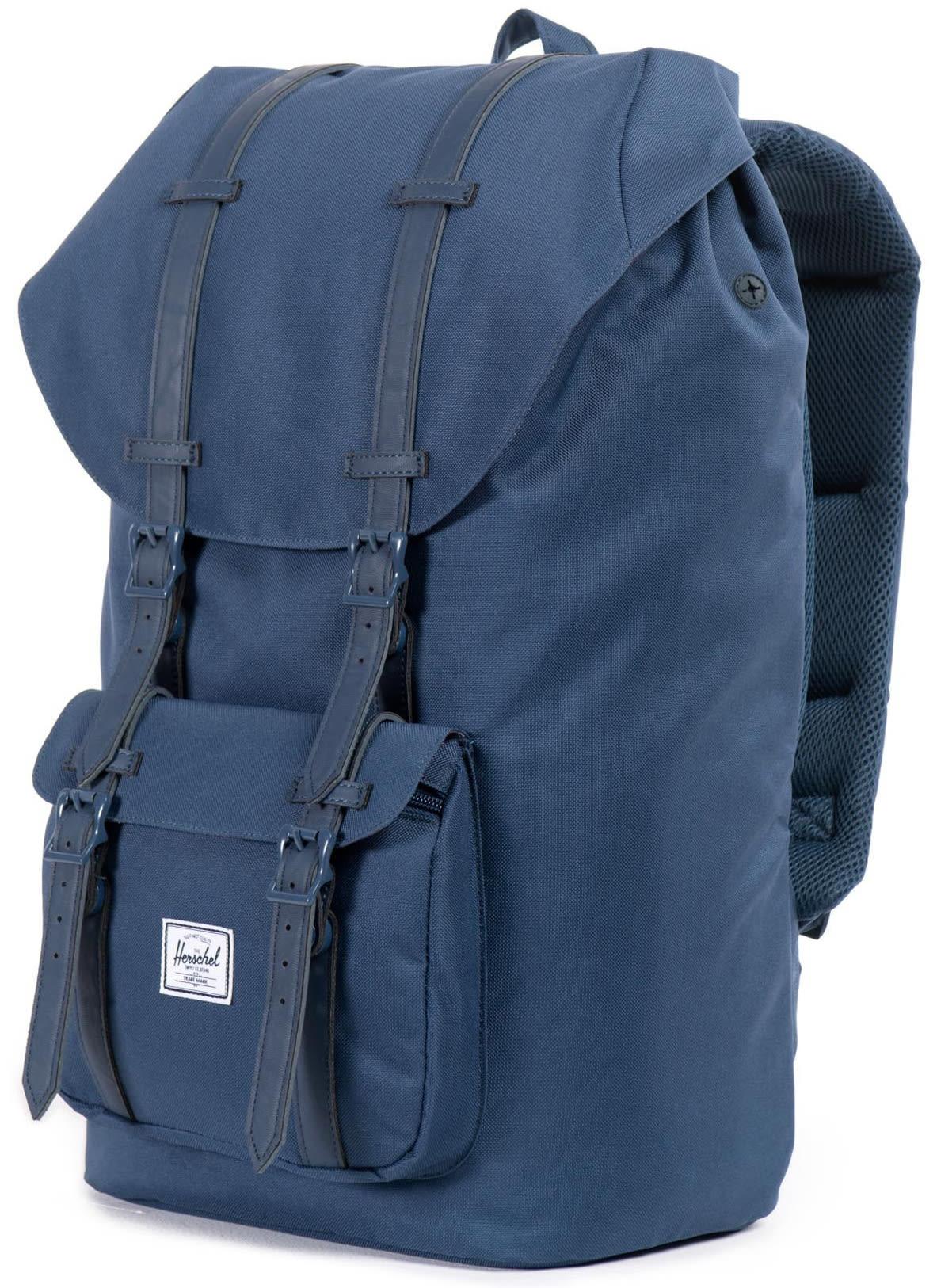 on sale herschel little america backpack up to 45 off. Black Bedroom Furniture Sets. Home Design Ideas