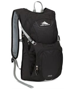 High Sierra Longshot 70 Hydration Pack Black/Black/Silver 2L
