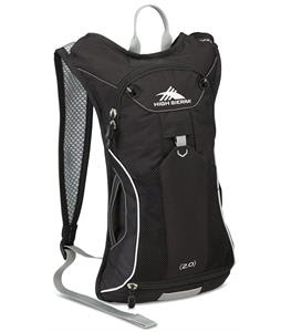 High Sierra Propel 70 Hydration Pack Black/Silver 2L