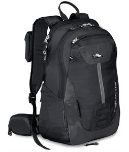 High Sierra Seeker 22L Backpack Black/Black