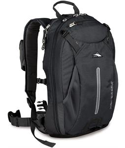 High Sierra Symmetry 18L Backpack Black/Black