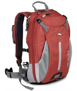 High Sierra Symmetry 18L Backpack Pomodoro/Ash/Black