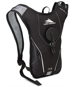 High Sierra Wave 50 Hydration Pack Black/Silver 1.5L