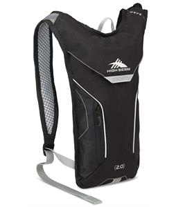 High Sierra Wave 70 Hydration Pack Black/Silver 2L
