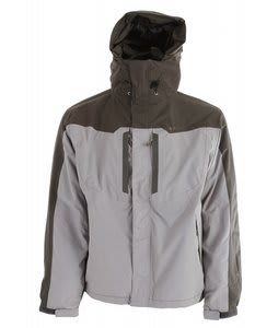 Hi-Tec Granite Peak Parka Jacket Burro/Charcoal