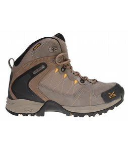 Hi-Tec V-Lite Buxton Mid WP Hiking Shoes Smokey Brown/Taupe/Sunflower