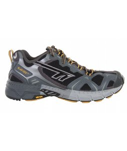 Hi-Tec V-Lite Trail Eruption Hiking Shoes Black/Charcoal/Mustard