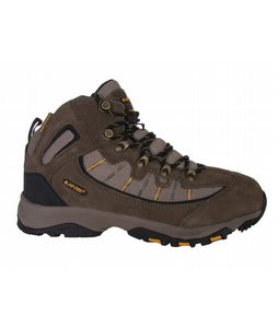 Hi-Tec Haka Trail WP Hiking Shoes Smokey Brn/Taupe/Gold