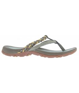 Hi-Tec Maui Thong Sandals Seagrass/Taupe/Linden