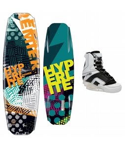 Hyperlite Premier Wakeboard 141 w/ Remix Bindings Black/White