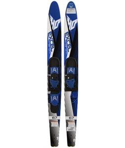 HO Excel Blem Combo Waterskis w/ HS/RTS Bindings