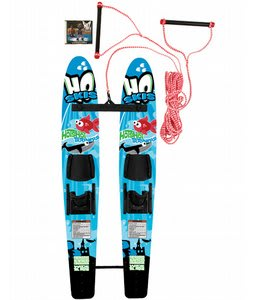 HO Hot Shot Trainer Combo Waterskis Bar/Dvd/Rope