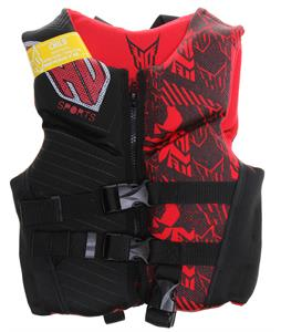 HO Wakeboard Vest Red Child