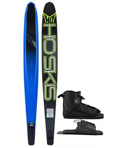 HO TX Slalom Ski w/ Freemax/Adjustable Rear Toe Bindings